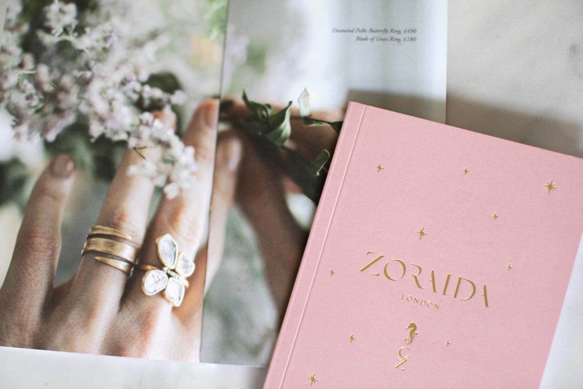 Close up of Catherine Zoraida brochure